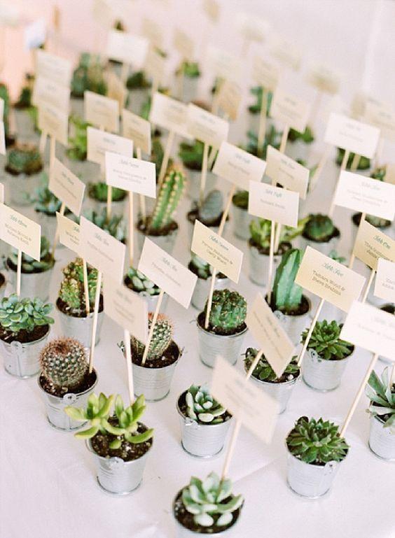 Greenery esküvői stílus esküvői köszönetajándék
