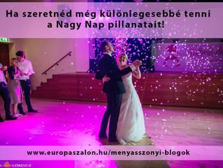 Éld át újra és újra a pillanatot! Esküvői fotós ajánló