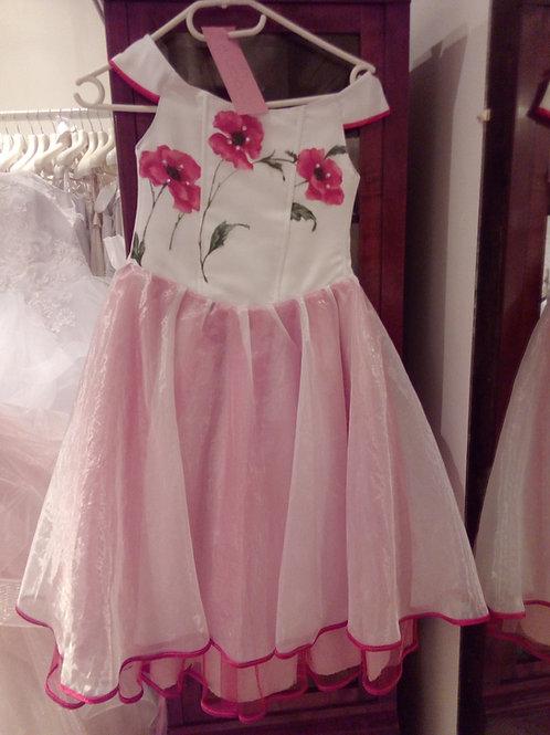 24. Kislány koszorúslány ruha