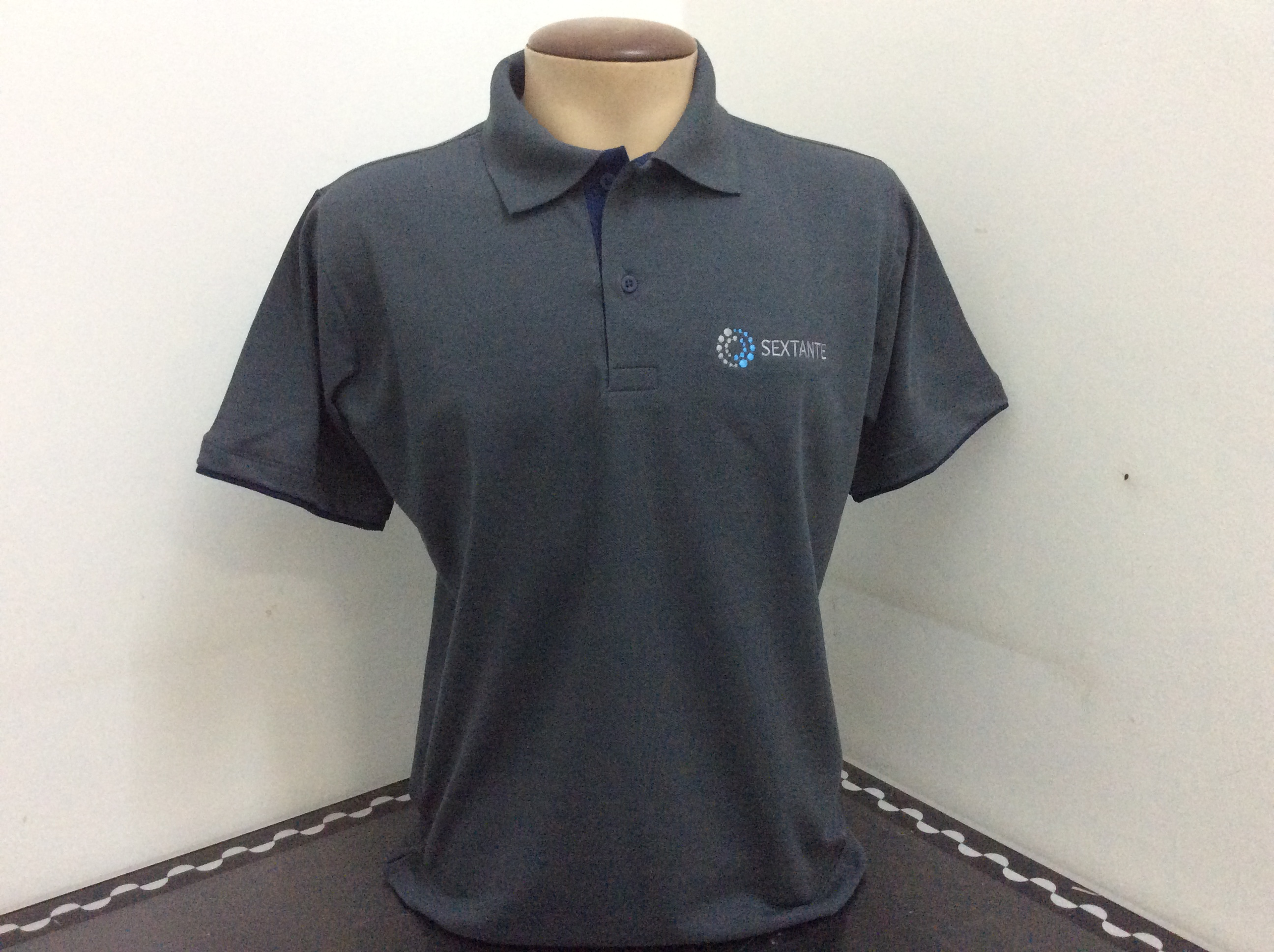 CAMISA G POLO BORDADA