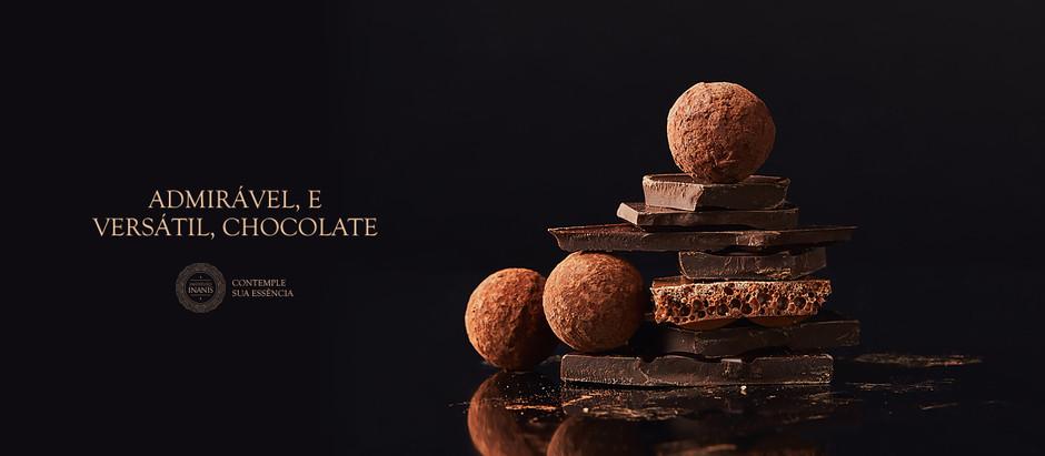 Admirável, e versátil, chocolate.