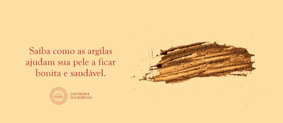 Saiba como as argilas ajudam sua pele a ficar bonita e saudável.