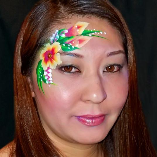 Partial Face adult design