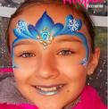 Frozen Elsa Face Panting