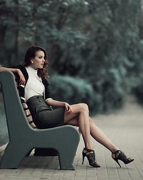 Model On Bench