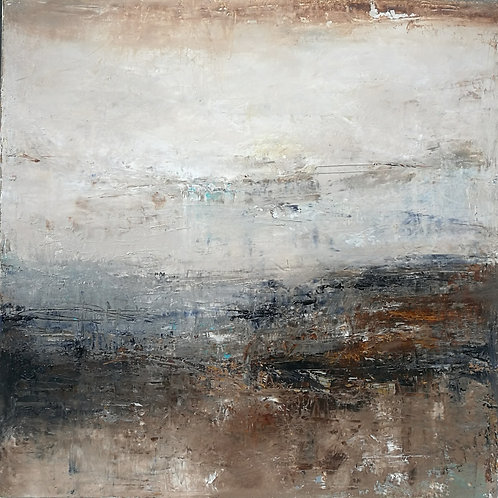 """Earth Song"" oil on canvas"