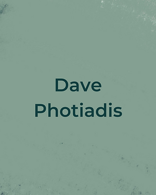 Keeping Faith Podcast Episode 8 with Dave Photiadis on light green textured background