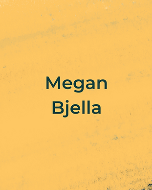 Keeping Faith Podcast Episode 5 with Megan Bjella on yellow textured background