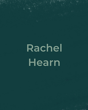 Keeping Faith Podcast Episode 4 with Rachel Hearn on dark green textured background