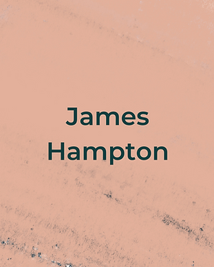 Keeping Faith Podcast Episode 2 with James Hampton on peach textured background