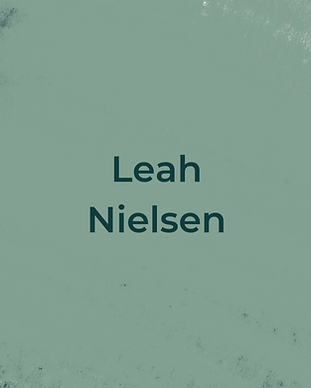 Keeping Faith Podcast Episode 3 with Leah Nielsen on light green textured background