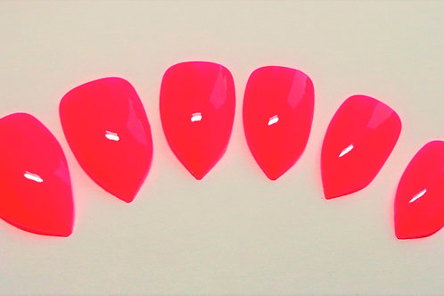 Punki Pink wide fit false nails in 5 styles