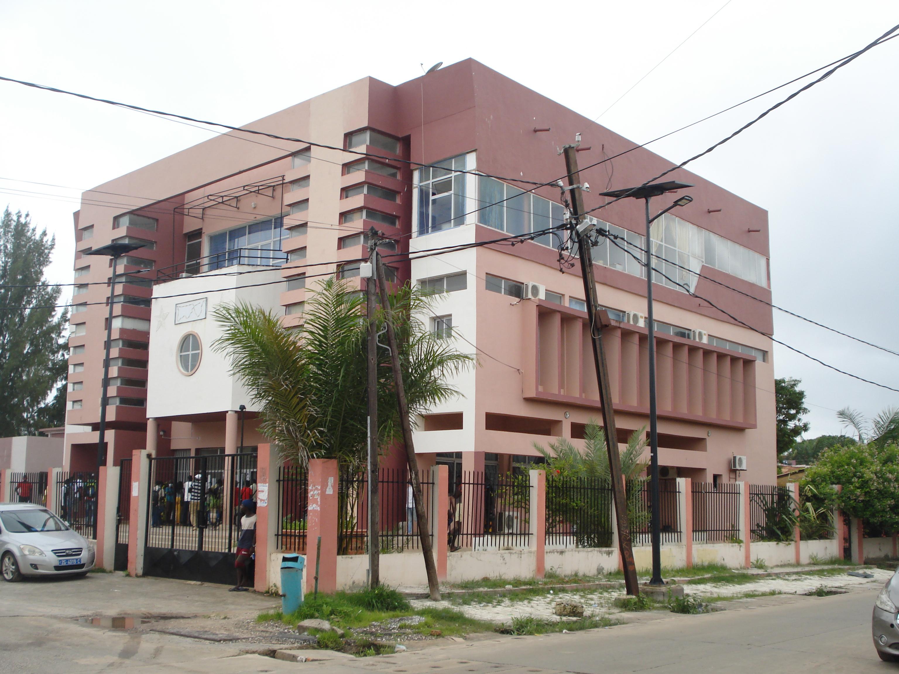 La mairie de Ziguinchor