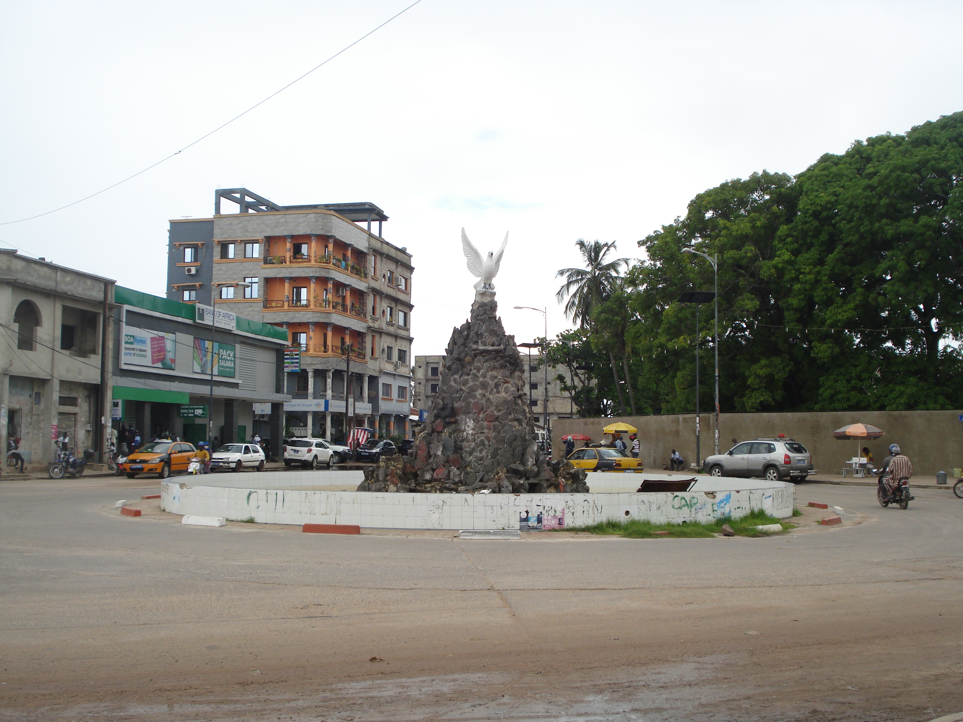 Rond-point Jean Paul II de Ziguinchor