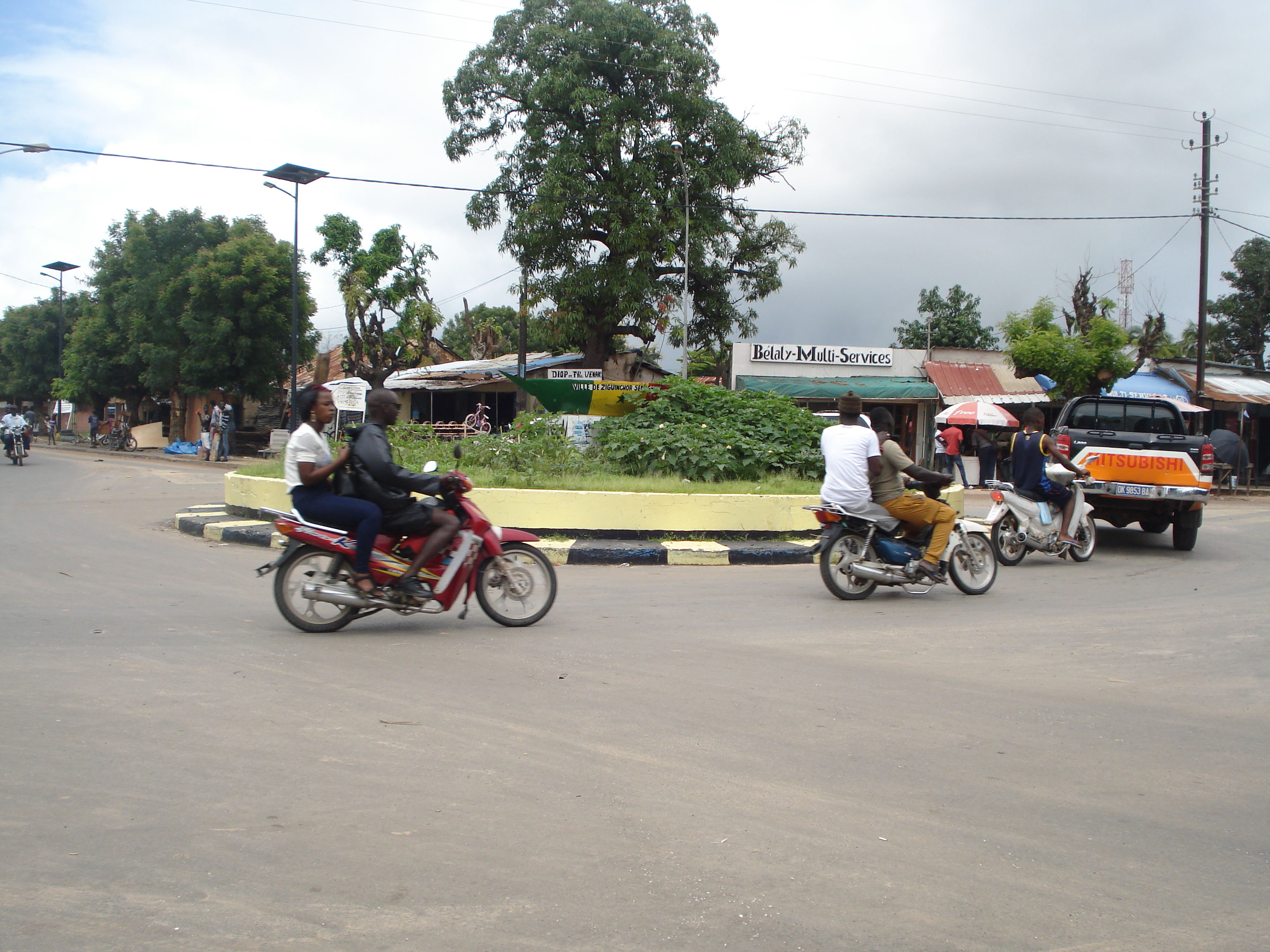 Rond-point Bélaly de Ziguinchor