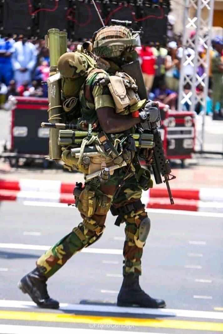 L'armée sénégalaise