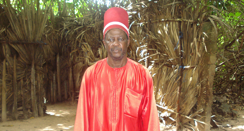Sibilumbaï Diédhiou, Roi d'Oussouye