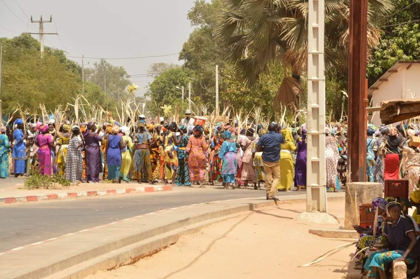 Procession des femmes de Mlomp