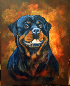 Kruize - 16x20 acrylic on canvas