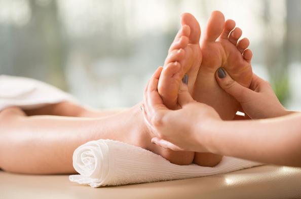 30 min. Reflexology Massage