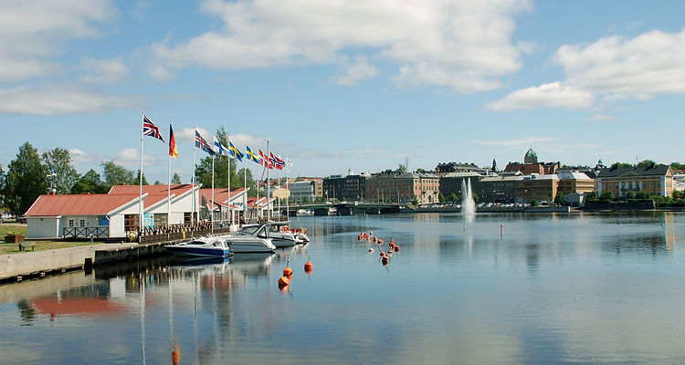 Besök gästhamnen i Härnösand