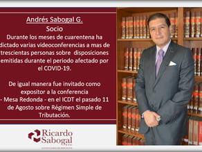 Consultoría Tributaria.  Ricardo Sabogal & Cía.