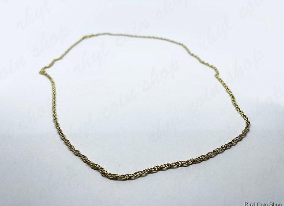 Adjustable Gold Necklace