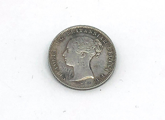 1838 VICTORIA FOUR PENCE