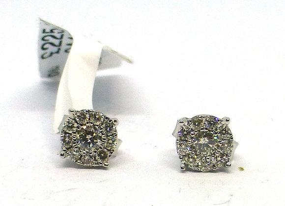 .25PTS DIAMOND STUD EARRINGS