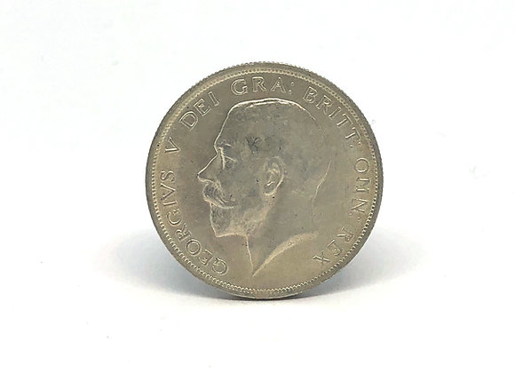 1916 HALF CROWN, GEORGE V