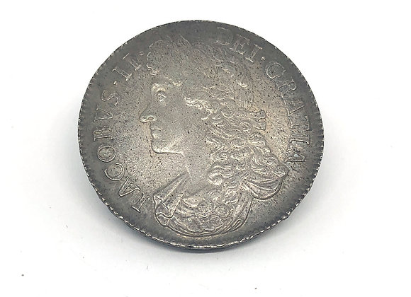 1687 JAMES II CROWN