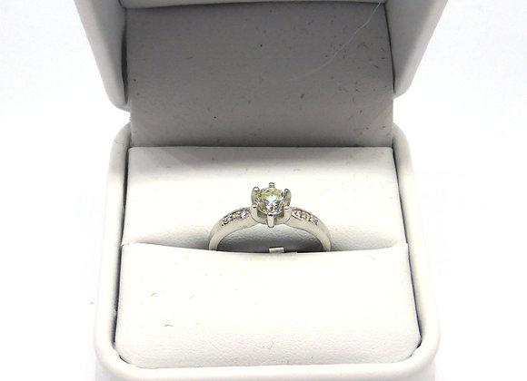 18CT 1/2CT DIAMOND RING