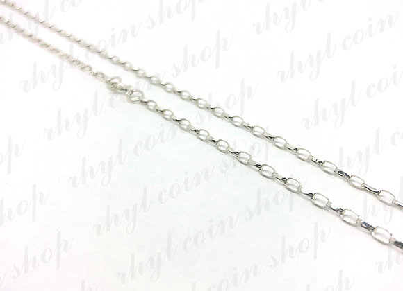 SILVER NECKLACE 10 INCHES