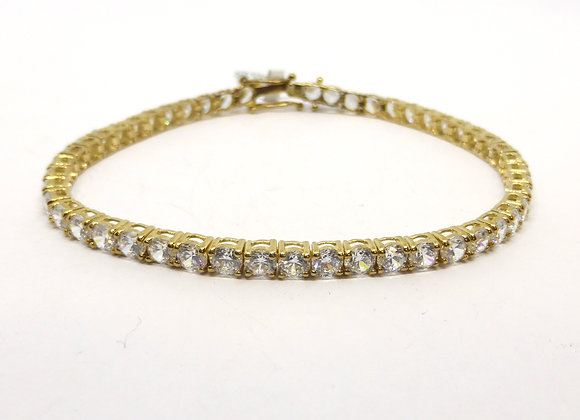 9CT GOLD TENNIS BRACELET