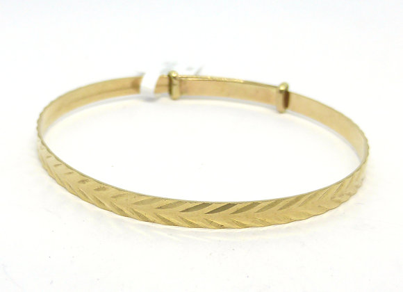 GOLD CHILD BANGLE
