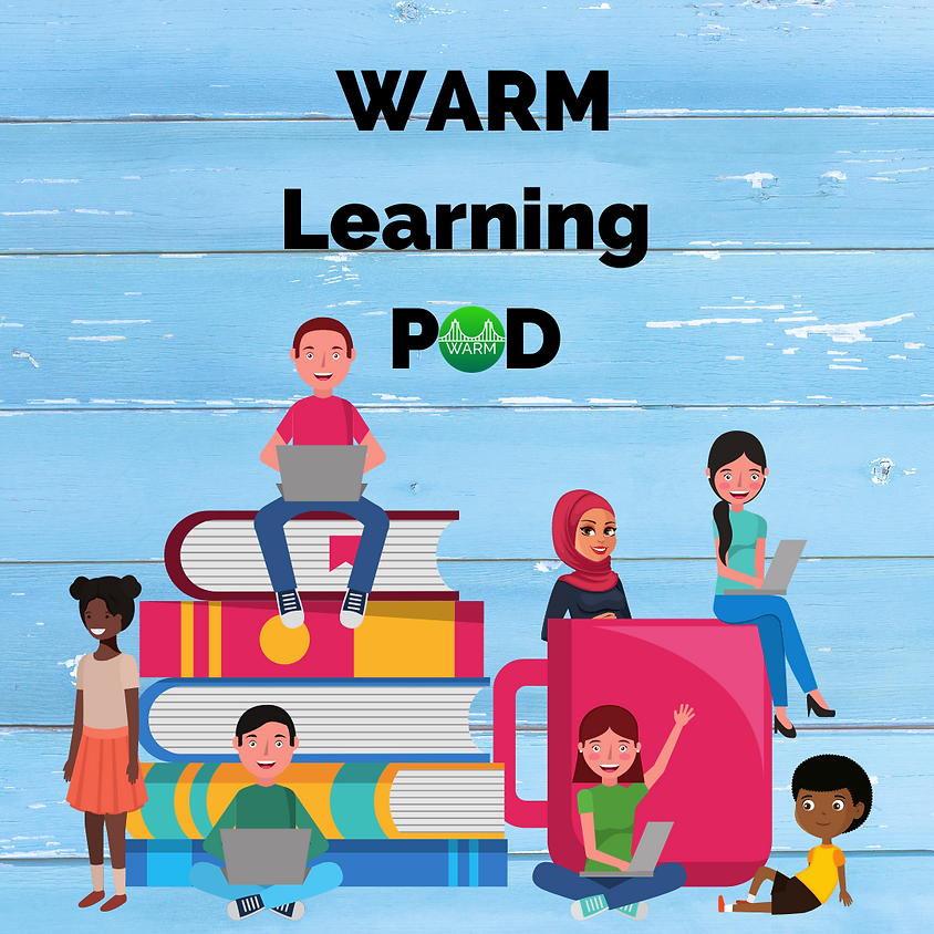 APRIL Learning Pod every Friday 11 a.m. - 3 p.m.