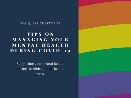 Tips for Managing Your Mental Health During COVID-19