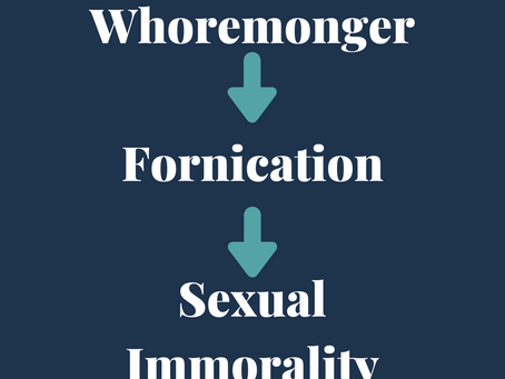 Let's Talk About Sexual Immorality