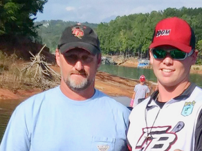 Father & son champions fish first BFL together
