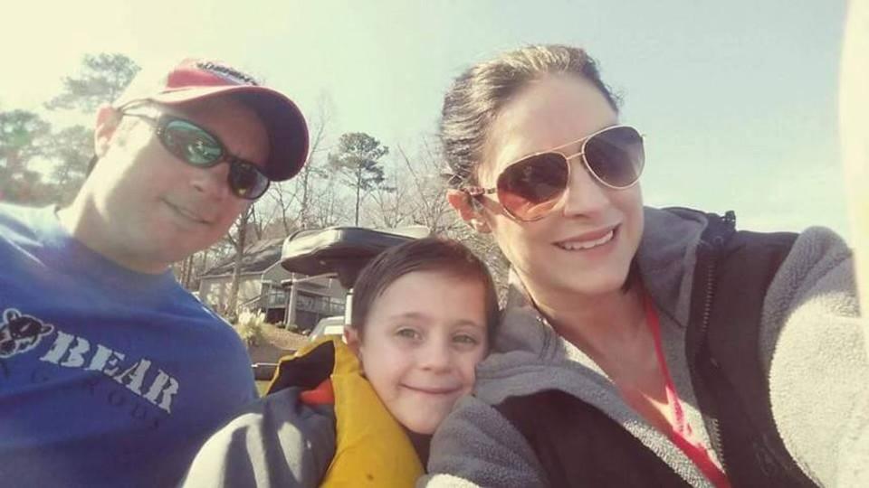 A Fishing Famiy- Kip, Reid, Julie