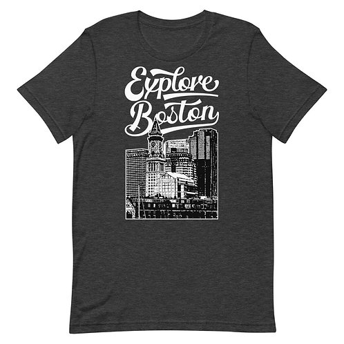 Explore Boston Waterfront Classic Tee - FREE SHIPPING