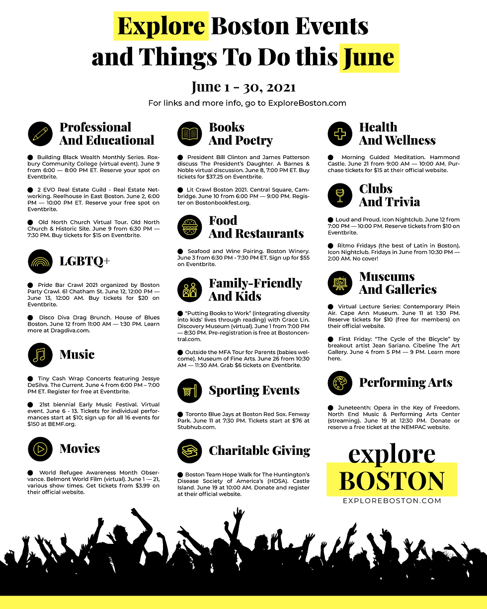 Explore Boston Events and Things To Do t