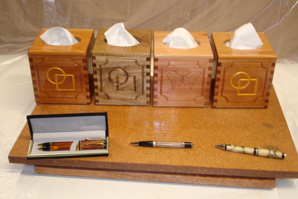 Tissue boxes & pens.JPG