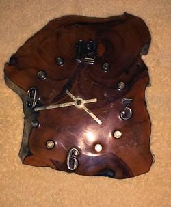 Beautiful Wood Clock