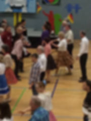 Day of German Unity in Datteln - Julie keeps an eye on the floor.