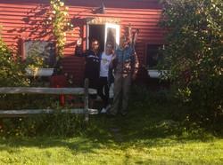 Slovakian visitors at the Bunk House