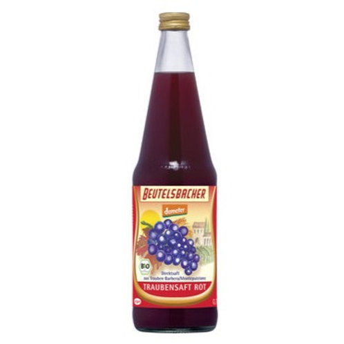 Jus de raisin rouge