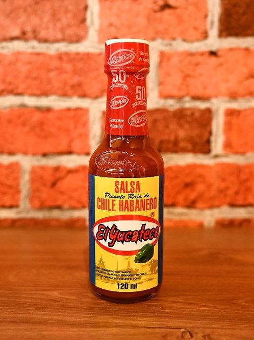 El Yucateco - Salsa Habanero Rojo 120ml