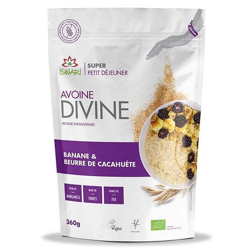 AVOINE DIVINE Banane & Beurre de Cacahuète