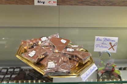 Divers chocolats